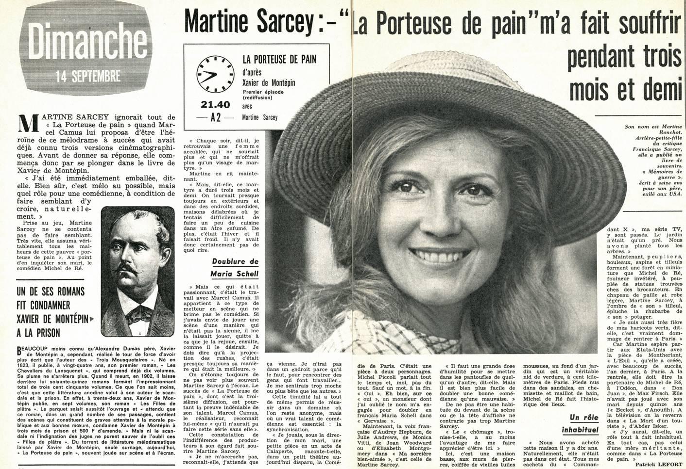 DE TÉLÉCHARGER LA SARCEY PORTEUSE PAIN MARTINE