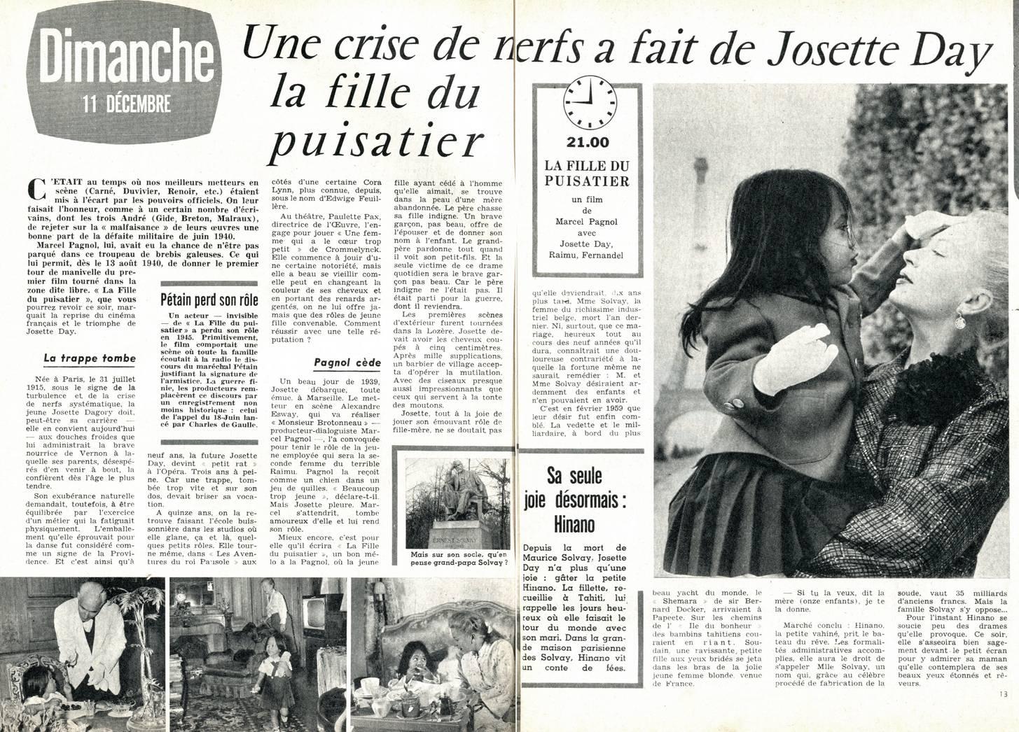 FILLE DU LA 1940 TÉLÉCHARGER PUISATIER
