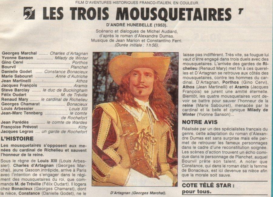 TÉLÉCHARGER LES TROIS MOUSQUETAIRES 1953