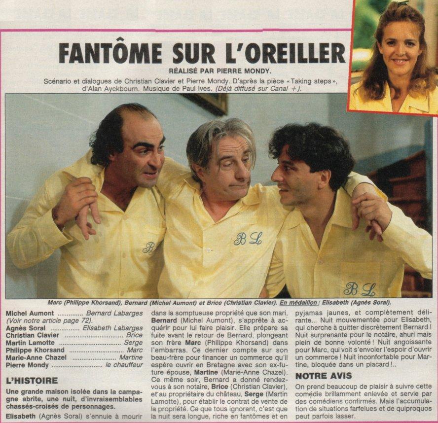 fantome sur l oreiller film Base de données de films français avec images fantome sur l oreiller film