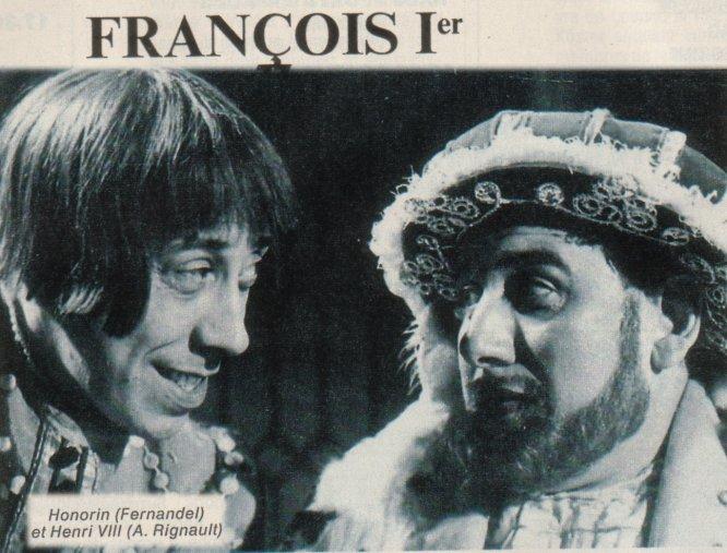FERNANDEL TÉLÉCHARGER FRANCOIS 1ER