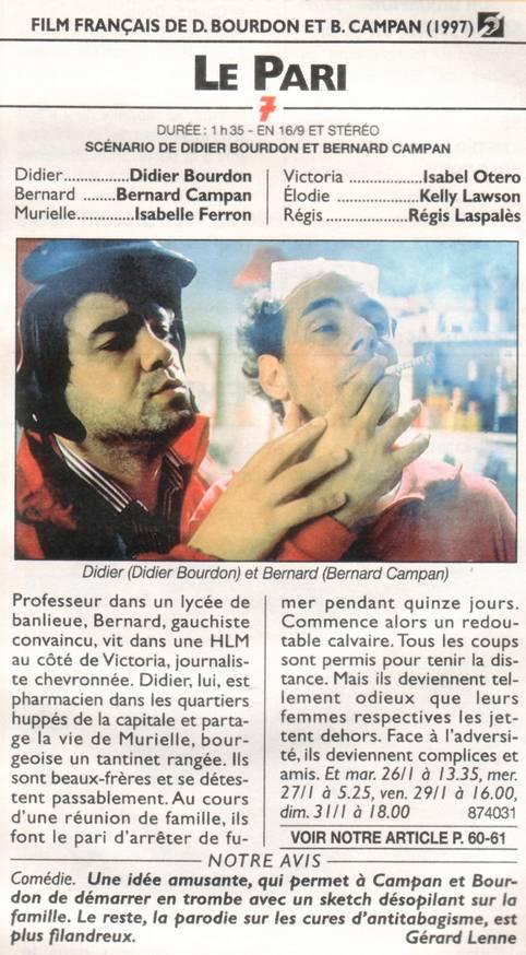 FILM LE BOURDON DIDIER TÉLÉCHARGER PARI